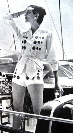 Carmen Dell'Orefice in Summer Fashions <3 1950's