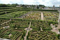 Villandry Chateau Gardens, Loire Valley, France