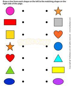 Shapes7 - math Worksheets - preschool Worksheets More