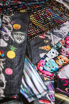 c1714dd3ff930 FASHION : Terez is known for its playful leggings, festooned with  photo-real prints of cookies, dogs and emoji, the company's best seller.
