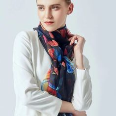 Archívy Šále a šatky - hodváb + polyester - Hodvábne výrobky Plaid Scarf, Modeling, Rain Jacket, Windbreaker, Jackets, Fashion, Down Jackets, Moda, Modeling Photography