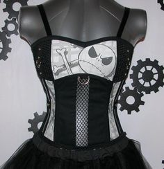I found 'Jack Skellington Corset Top DiY  aNGrYGiRL Gear  by aNGrYGiRLGear' on Wish, check it out!