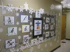 olympics bulletin board ideas | PEC: Bulletin Boards for Physical Education