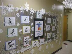 olympics bulletin board ideas | PEC: Bulletin Boards for Physical Education