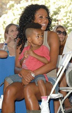 Mel B and Eddie Murphy daughter.  Adorable