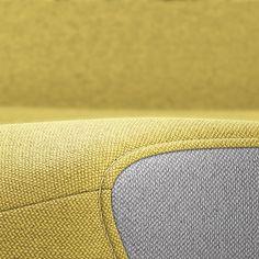 PURE INTERIOR Edition 11 #Gelb. Mehr Design für dein #HomeOffice. Mit einer vielfältigen und hochwertigen Stoffauswahl und ihrem ergonomischen Design vereint die PURE INTERIOR Edition bequemes und ergonomisches Sitzen. Das Design und die Farbgebung des PURE machen ihn zu einem optischen Leichtgewicht. Farblich abgestimmt bringt er sich in das Home Office ein und kann sich gleichzeitig zurücknehmen. #schreibtischstuhl #design #interiordesign #Stoff #ergonomie #interstuhl Home Office, Pure Home, Interiordesign, Designer, Pure Products, Texture, Yellow, Surface Finish, Office Home
