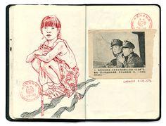 Aleksi Cavaillez — China sketchbook August 2014