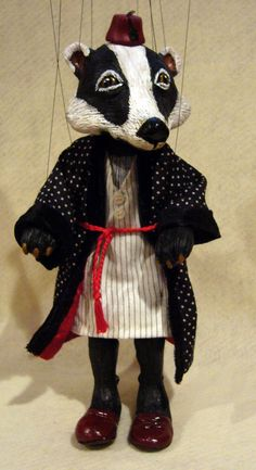 Badger Marionette, Wind in the Willows Character