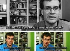 Reflexión del escritor John Green sobre la adaptación de uno de sus libros a la pantalla