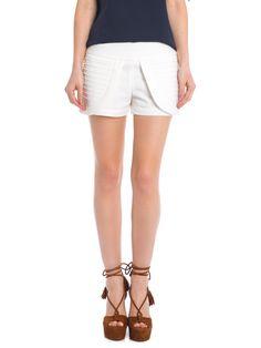 Shop2gether - Shorts Feminino Sarita - Mixed - Off White