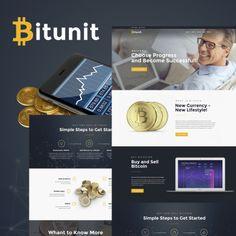 Bitunit Lite - Bitcoin Free. WPML ready WordPress Template