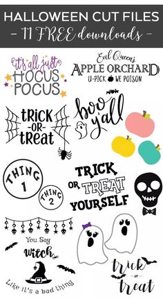 11 Free Halloween Themed SVG Files that you can use for crafting with your Cricut or Silhouette. Dowload this Free Halloween SVG File- You Say Witch Like It's A Bad Thing! Make this free cut file with your Cricut, Silhouette or favorite cutting machine Diy Halloween Shirts, Halloween Boo, Halloween Vinyl, Halloween Ideas, Halloween Designs, Free Halloween Font, Free Halloween Printables, Halloween Crafts, Halloween Decorations