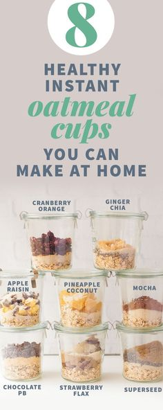 8 Healthy Instant Oatmeal Cups You Can Make At Home #GetYourBeautyrest #sponsored