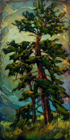 Paintings - David Langevin Artworks Inc. Summer Nature Photography, Art Photography, Pastel Artwork, Nature Artwork, Paintings I Love, Art For Art Sake, Tree Art, Artist Art, Art Images