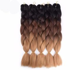 Items per Package: /pack Color Type: Ombre Can Be Permed: No Material Grade: Kanekalon Texture: Jumbo Braids Model Number: crochet braids - May 25 2019 at Ombre Crochet Braids, Ombre Box Braids, Blonde Box Braids, Jumbo Box Braids, Crochet Hair Styles, Box Braids Hairstyles, Hairstyles 2016, Updo Hairstyle, Short Hairstyles