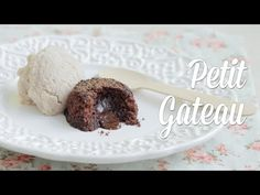 Petit Gateau Vegano (com Sorvete de Paçoca) - YouTube