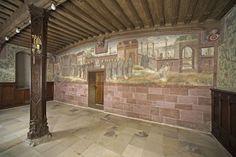 Wandmalerei im Winterrefektorium von Kloster und Schloss Bebenhausen