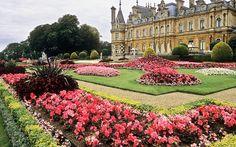 Waddesdon Manor Gardens, Buckinghamshire, England | Immaculate National  Trust Victorian Gardens
