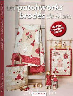 Les patchworks brodés de Marie - Marie Suarez 24.95