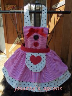 Lalaloopsy Bruses inspried childs apron by Josettesaprons on Etsy, $40,00