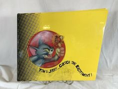 Tom & Jerry 1992 Movie Book License & Style Guide Catch the Excitement Draw Kids Cartoon Characters, Cartoon Kids, Spiderman Movie, Morning Cartoon, Tom And Jerry, Anime Figures, Book Crafts, Cool Items, Style Guides