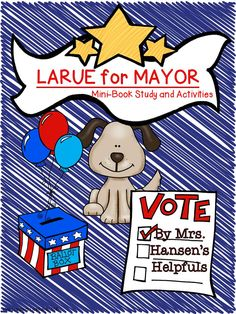 LaRue for Mayor by Mark Teague is a great social studies starter.  This literature was just updated.  https://www.teacherspayteachers.com/Product/LaRue-for-Mayor-A-Mini-Book-Study-and-Activities-1471156