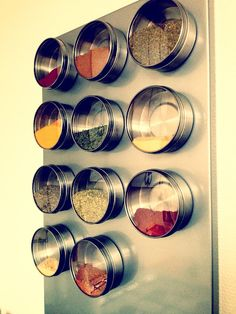 """Make Your Own Magnetic Spice Rack"" by Tizzalicious Crafts & Cuteness"