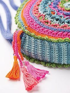 Ravelry: Mandala Bag pattern by Lena Skvagerson
