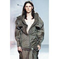 "Justin Chu on Instagram: ""Stay warm New Yorkers (in angora #wool #cashmere ) ⛄️@onlyaticon @artsoffashion #runway #coat"""