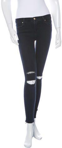 J Brand Distressed Skinny Jeans Distressed Skinny Jeans, J Brand, Black Jeans, Legs, Denim, Stylish, Pants, Women, Fashion