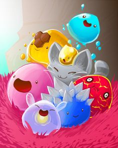 Slime Rancher by Dragons-Desires on DeviantArt