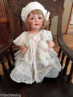 Kestner Hilda 22 inch J D K Toddler Doll 245 Germany Made 1914 Vintage   eBay