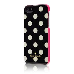 kate spade iPhone 5 Case - Black with White Dots - Apple Store (U.S.)