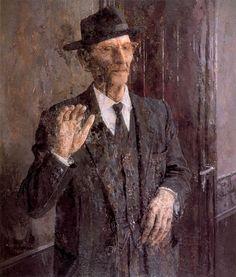 Francisco Carretero. 1961. Obra de Antonio López García