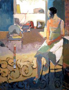 Linda Christensen » Gallery 2013, Musing 48x48