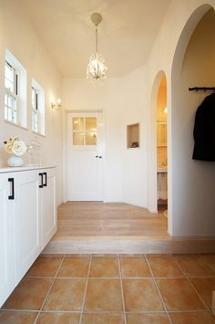 Love Home, Ideal Home, Entry Hall, Japanese House, White Rooms, House Rooms, Home Interior Design, Decoration, My House