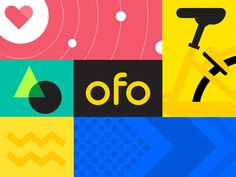International version of ofo designed by Fanta for UIGREAT. Connect with them on Dribbble; the global community for designers and creative professionals. Illustration Artists, Character Illustration, Bike Design, Web Design, Typography Logo, Logos, Cinema 4d, Branding, Inspiration