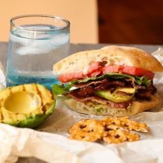BLT with Grilled Avocado