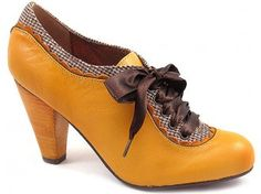 Poetic Licence Backlash Bootie in mustard (if it weren't leather)