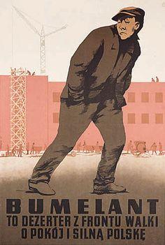 Plakat propagandowy na wesoło - Joe Monster Communist Propaganda, Polish Posters, Good Old Times, Vintage Travel Posters, Giza, Graphic Illustration, Illustrations, Nostalgia, Funny