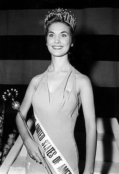 Take my Grammie to the Miss America Pageant. I used to spend the night and watch it with her every year when I was little. (Miss America 1958)