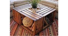 4つのワイン箱で収納付きテーブルをDIY! │ TIPS │ 自分らしいDIYスタイルを追求するウェブMAG │ DIYer(s)
