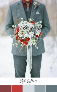 Beautiful Winter Wedding Color Palette