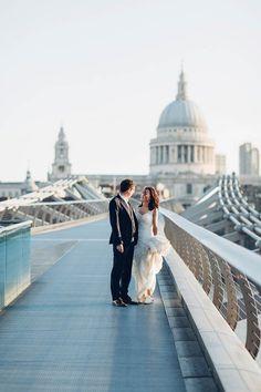 Sunrise Engagement Session in London