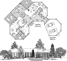 Classic Collection CM-0312 (2860 sq. ft.) 3 Bedrooms, 3 Baths