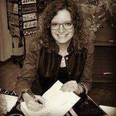 Lene Dybdahl at a booksigning release event for #Kongens #Krucifix