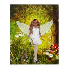 Shop Angel of Animals - Childlike Ariel Acrylic Print created by WhimsicalArtwork. Personalize it with photos & text or purchase as is! Fantasy Gifts, Faeries, Your Image, Art Gallery, Creatures, Angel, Prints, Photography, Animals