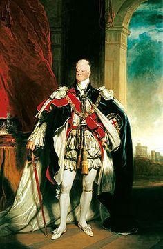Guilherme IV do Reino Unido, retrato por Martin Archer Shee, 1833.