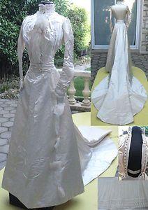 Robe de mariee style 1900