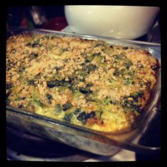 #glutenfree Broccoli and Spinach Casserole #jcooksglutenfree